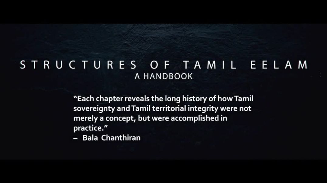 Structures of Tamil Eelam A Handbook  Promo Video