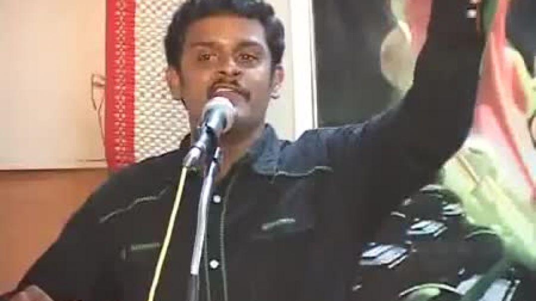 Kalyana Sundaram Maaveerar Naal Speech 2006