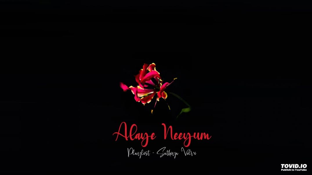 Alaye Neeyum | அலையே நீயும் | Eelam Song