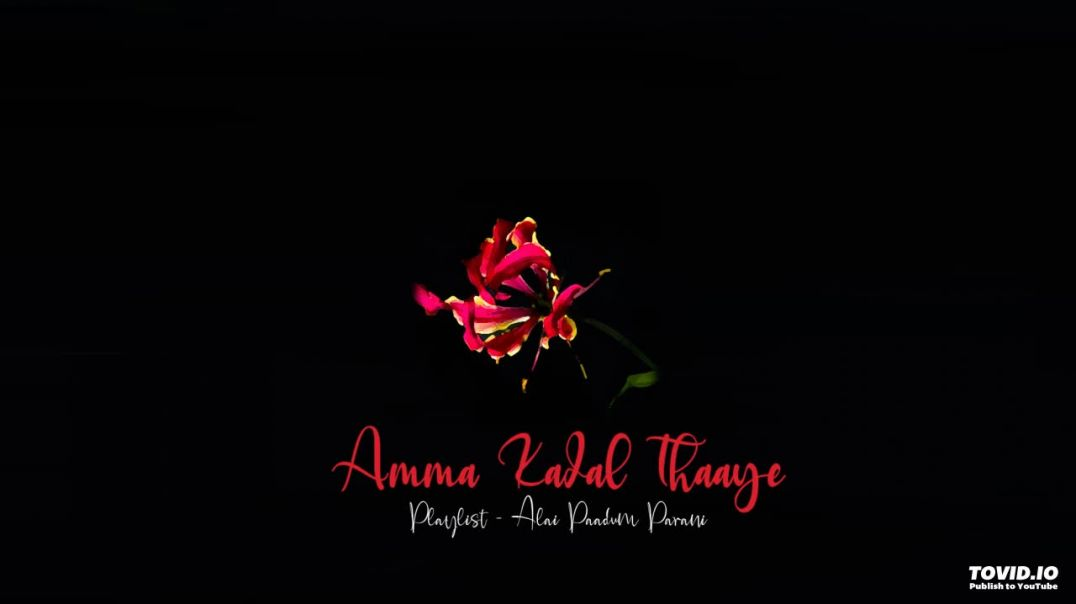 Amma Kadal Thaaye | அம்மா கடல்தாயே | Eelam Song