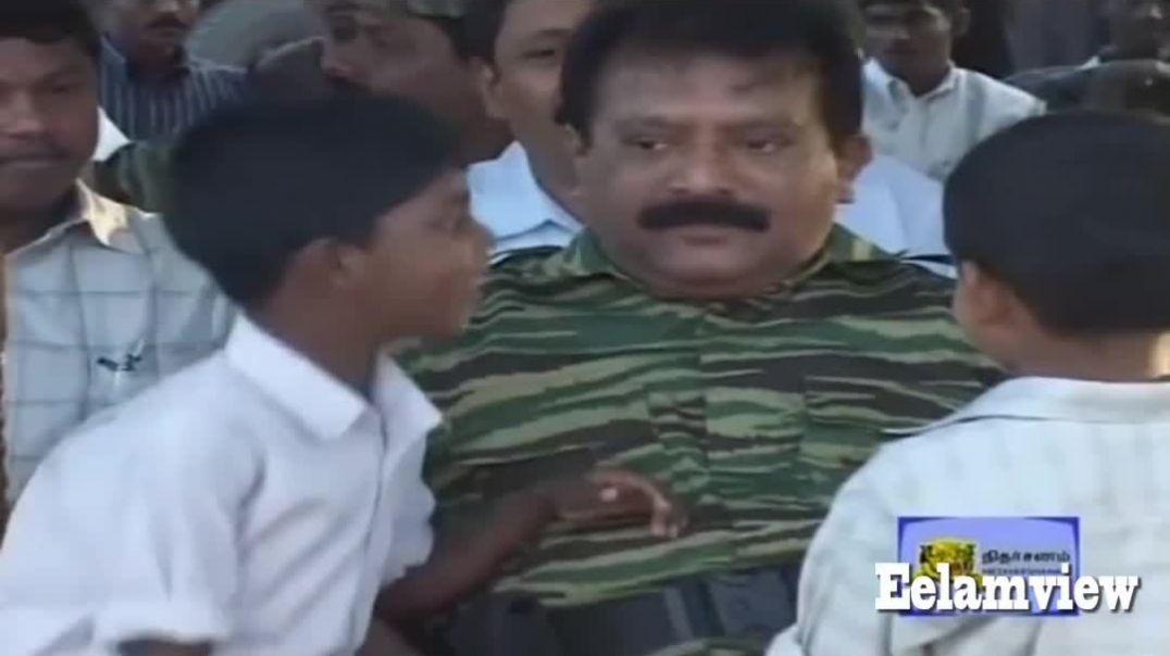 தமிழீழ தேசிய தலைவர் வேலுப்பிள்ளை பிரபாகரன்
