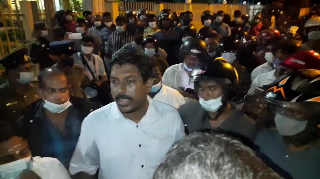 யாழ் பல்கலைக்கழகத்தில் போராட்டம் - Protest at Jaffna University