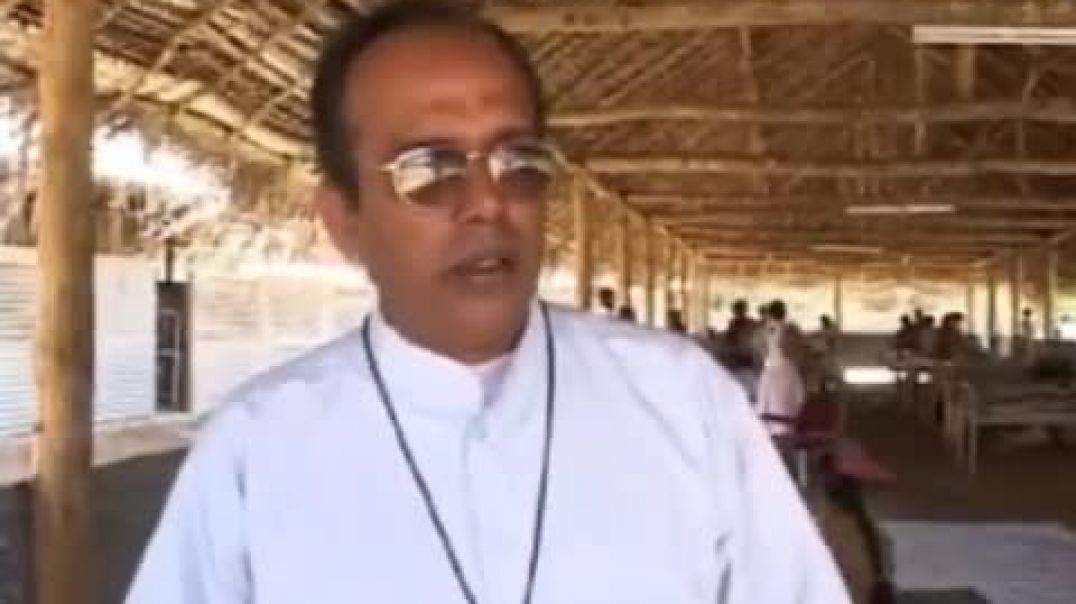 Father Regenold's speech about shelling ontamil civilians by Sri Lankan Army